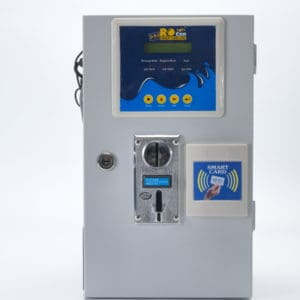 Ro con Coin + Smart card Based Water ATM with 2 taps
