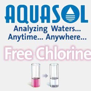Free Chlorine (Iodometric Method) Test Kit ( AE-246L)-AQUASOL