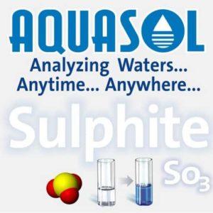 Sulphite Test Kit (AE-206)-AQUASOL