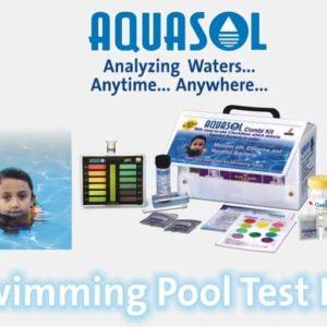 Swimming Pool Test Kit (Coliform) AE -SPK AQUASOL