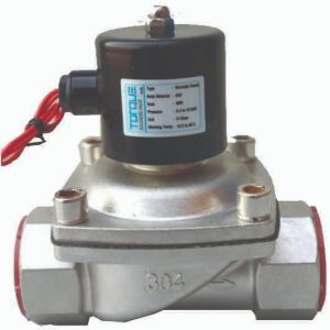 50 NB (2″) Normally Closed Solenoid Valve SS 304 – TORQUE (CE Certified)
