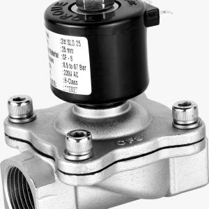 25 NB (1″) Normally Closed Solenoid Valve SS 304 – TORQUE (CE Certified)