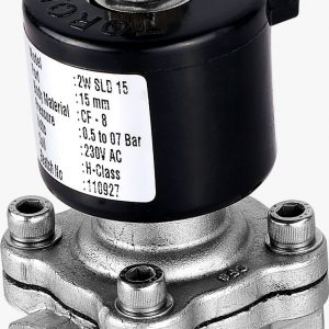 20 NB (3/4″) Normally Closed Solenoid Valve SS 304 – TORQUE (CE Certified)