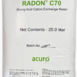 RADON C70 Water Softening Cation Exchange Resin (25 Litres)