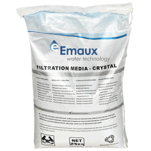 Glass Filtration Media – Emaux (25 KG)