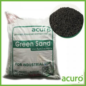 Manganese Greensand (MnO2) – Iron Removal Media (25 KG)